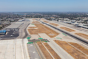 Orange County John Wayne Airport Runway Stock Photo