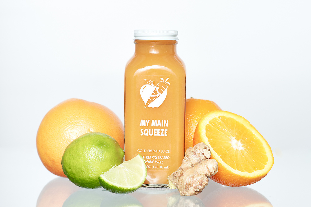 fresh squeezed citrus juice from my main squeeze juice.