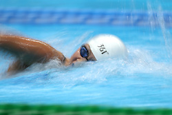 JAKARTA, Aug. 24, 2018  Li Bingjie of China competes during women's 400m freestyle final of swimming at the 18th Asian Games in Jakarta, Indonesia, Aug. 24, 2018. Li won the silver medal. (Credit Image: © Fei Maohua/Xinhua via ZUMA Wire)