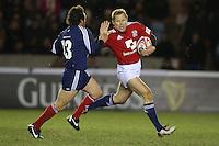Rugby Union - 2012 Rugby Legends Match - British & Irish Legends vs. French Legends.Josh Lewsey makes a break at Twickenham Stoop, London