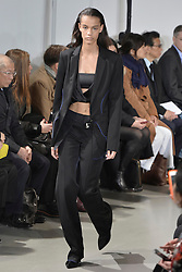 a Model presents Fashion of Paco Rabanne, Autumn Winter 2016, Ready to Wear, Paris Fashion Week. EXPA Pictures © 2016, PhotoCredit: EXPA/ Photoshot/ Digital Catwalk<br /> <br /> *****ATTENTION - for AUT, SLO, CRO, SRB, BIH, MAZ, SUI only*****