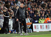 SHEFFIELD, ENGLAND - DECEMBER 05: <br /> Sheffield United manager Chris Wilder reacts during the Premier League match between Sheffield United and Newcastle United at Bramall Lane on December 5, 2019 in Sheffield, United Kingdom. (Photo by Rich Linley - CameraSport via Getty Images)
