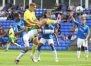 Peterborough United v Norwich City 280712