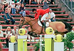 Van Dijck Marc, BEL, Verelst Goliath<br /> CHIO Aachen 2001<br /> © Hippo Foto - Dirk Caremans<br /> 15/06/2001