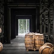 Kyrö Distilleryn viskivarasto