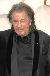 February 9, 2020, Los Angeles, California, United States: February 9th  2020 - Los Angeles, California  USA - Actor AL PACINO  at the ''92nd Academy Awards'' - Arrivals  held at the Dolby Theater Los Angeles  CA (Credit Image: © Paul Fenton/ZUMA Wire)
