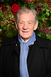 Sir Ian McKellen attending the Evening Standard Theatre Awards 2018 at the Theatre Royal, Drury Lane in Covent Garden, London