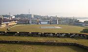 International cricket pitch venue, Galle, Sri Lanka, Asia