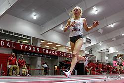 Razorback Invitational<br /> Indoor college track & field meet<br /> Lauren Gregory of Arkansas wins Mile in 4:35.69