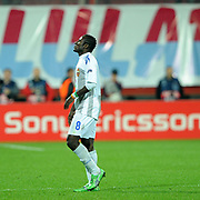 CSKA Moskva's Seydou DOUMBIA during their UEFA Champions League group stage matchday 4 soccer match Trabzonspor between CSKA Moskva at the Avni Aker Stadium at Trabzon Turkey on Wednesday, 02 November 2011. Photo by TURKPIX