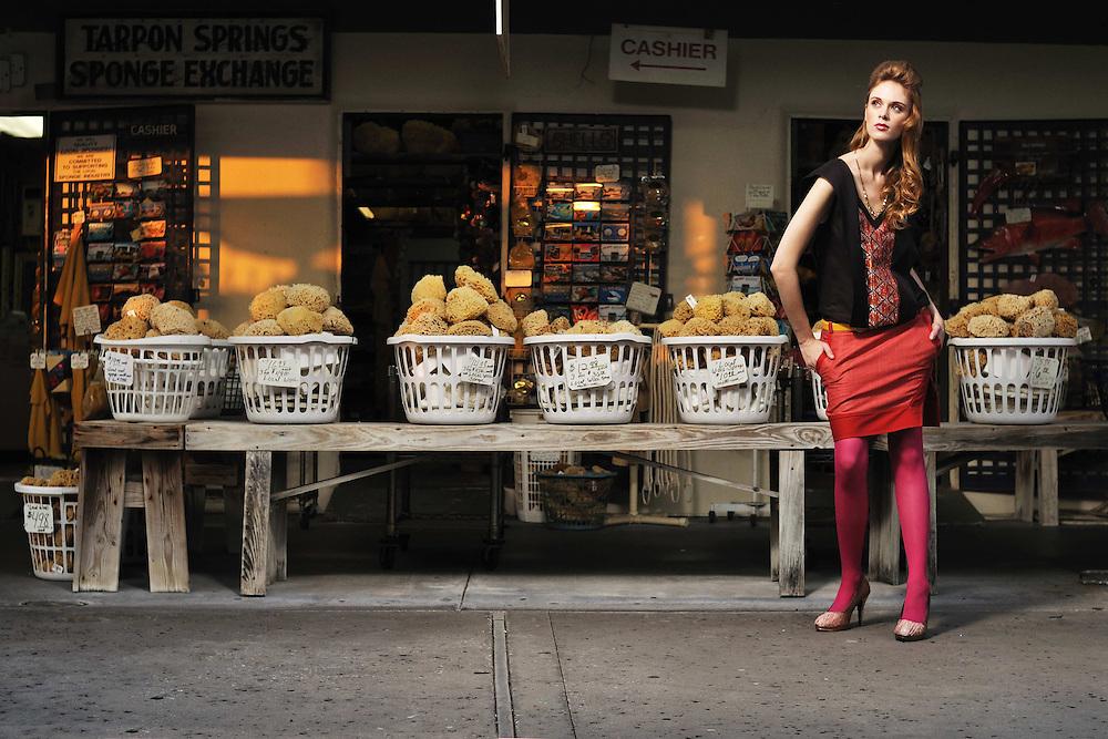 Ben Chmura Fashion Designer. Photography by Brian James.