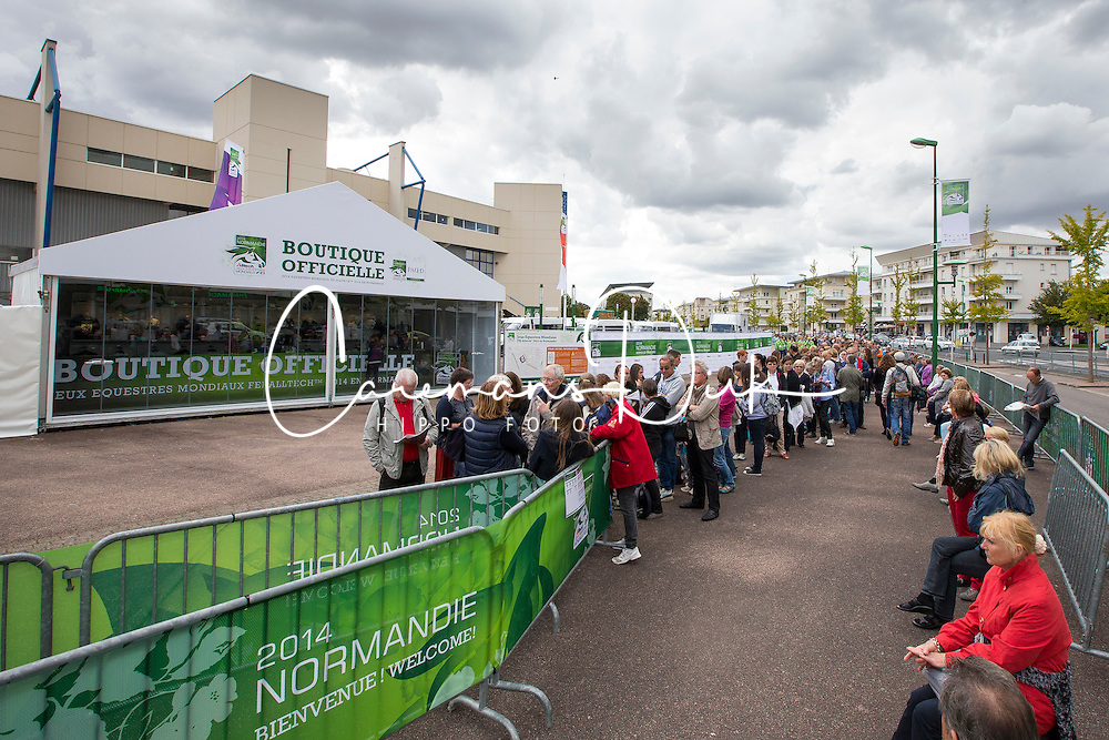 Spectators<br /> Alltech FEI World Equestrian Games™ 2014 - Normandy, France.<br /> © Hippo Foto Team - Leanjo de Koster<br /> 25/06/14