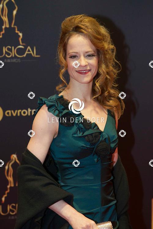 UTRECHT - In het Beatrix Theater  zijn de AvroTros Musical Awards 2015 uitgereikt. Met hier op de foto  Marjolein Teepen. FOTO LEVIN DEN BOER - PERSFOTO.NU
