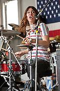 Linda Pitmon at the 2011 Hoboken Music & Arts Festival