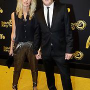 NLD/Amsterdam/20121019- Televiziergala 2012, Alberto Stegeman en partner Judith Krom
