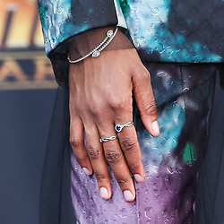 HOLLYWOOD, LOS ANGELES, CA, USA - APRIL 23: World Premiere Of Disney And Marvel's 'Avengers: Infinity War' held at the El Capitan Theatre, Dolby Theatre and TCL Chinese Theatre IMAX on April 23, 2018 in Hollywood, Los Angeles, California, United States. 23 Apr 2018 Pictured: Letitia Wright. Photo credit: Xavier Collin/Image Press Agency / MEGA TheMegaAgency.com +1 888 505 6342