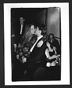 Chrissie Donaldson & Kip Roberts. Gold & Silver Ball. Palladium. New York. 17 December 1989.