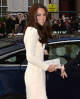 The Duchess of Cambridge attends a meeting of the Thirty Club at Claridges, London, UK, on the 8th May 2012.<br /> <br /> PICTURE BY JAMES WHATLING