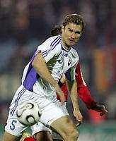 Fotball<br /> EM-kvalifisering<br /> Slovakia v Tyskland<br /> 11.10.2006<br /> Foto: imago/Digitalsport<br /> NORWAY ONLY<br /> <br /> Stanislav Varga (Slowakei)