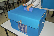 Israel, Casting a vote for the 21st Knesset April 9th 2019