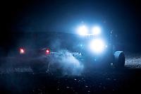 Podlasie, 27.11.2019. N/z prace polowe w nocy fot Michal Kosc / AGENCJA WSCHOD