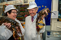 Pictured: Sheila Ritchie and Willie Rennie <br />