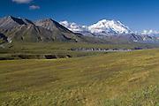 Mt. McKinley (Denali), Denali National Park, Alaska. Digital original ©Robin Brandt  #2007_2577