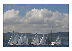 Bell Lawrie Series Tarbert Loch Fyne - Yachting.The third day's inshore races, which transpired to be the last..1720 startline on the Talisker One Design course..