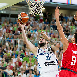 20170824: SLO, Basketball - Friendly match, Slovenia vs Croatia
