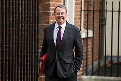 © Licensed to London News Pictures. 27/02/2018. London, UK. Secretary of State for International Trade Liam Fox on Downing Street. Photo credit: Rob Pinney/LNP