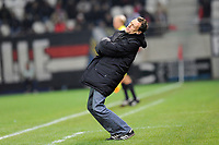 FOOTBALL - FRENCH CHAMPIONSHIP 2010/2011 - L2 - STADE DE REIMS v GRENOBLE FOOT 38 - 22/10/2010 - PHOTO GUILLAUME RAMON / DPPI - YVON POULIQUEN (GRENOBLE COACH)