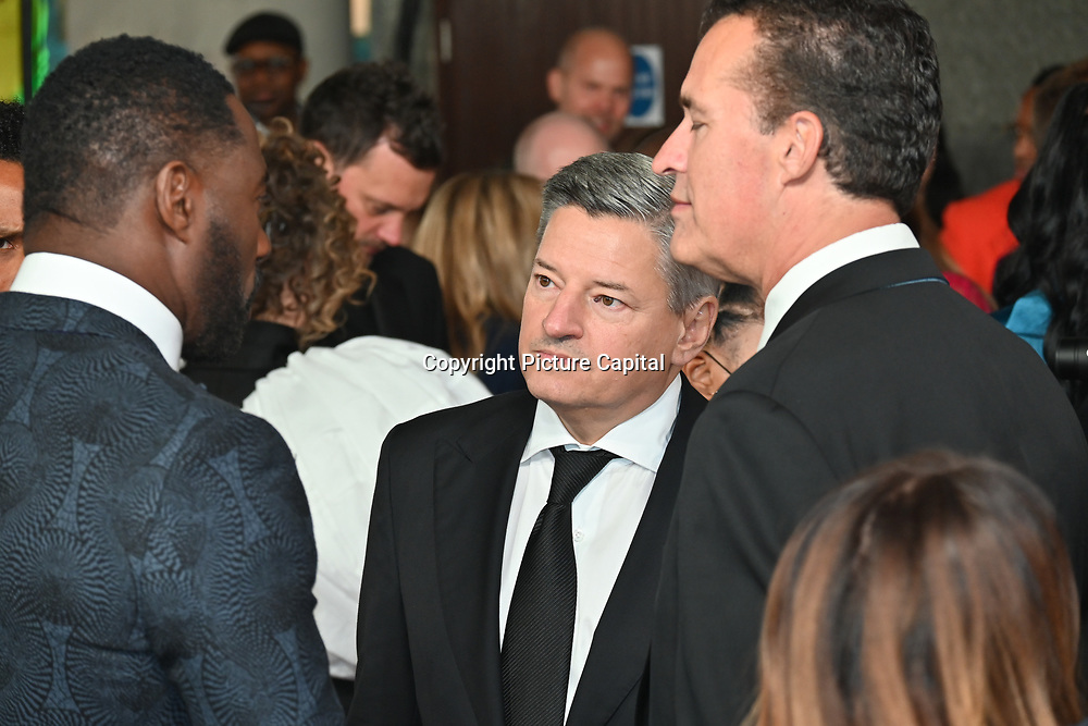 """Ted Sarandos attended """"The Harder They Fall"""" Opening Night Gala - 65th BFI London Film Festival, Southbank Centre, London, UK. 6 October 2021."""