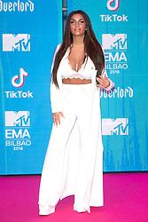 November 4, 2018 - Bilbao, Bizkaia, Spanien - Elettra Lamborghini bei der Verleihung der MTV European Music Awards 2018 in der Bizkaia Arena. Bilbao, 04.11.2018 (Credit Image: © Future-Image via ZUMA Press)