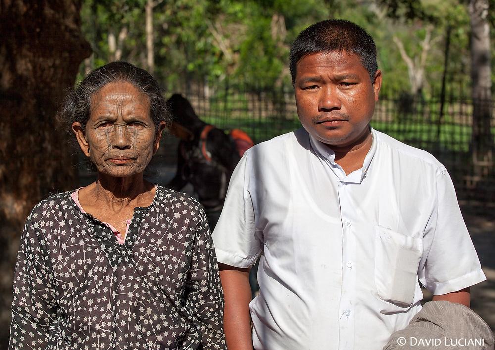 Mister Aung Zan and Miss Daw Mar Mark Oo.