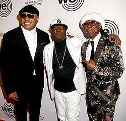 April 27, 2018 - New York City, New York, U.S. - Hip hop artists LL COOL J, GRANDMASTER FLASH and ROGER DALTREY from the band 'The Who' attend the 2018 We Are Family Foundation Celebration Gala held at the Hammerstein Ballroom. (Credit Image: © Nancy Kaszerman via ZUMA Wire)