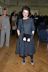LULU GUINNESS at a lunch in aid of the charity African Solutions to African Problems (ASAP) held at the Royal Horticultural Hall, Vincent Square, London on 19th May 2016.