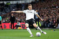 DERBY, ENGLAND - MAY 11: - DCFC vs Fulham. Craig Forsyth, puts in a cross