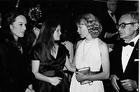 """1979 Mia Farrow at the premiere of """"Hurricane"""" at Mann's Chinese Theater"""