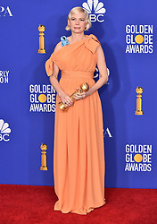 Michelle Williams in the press room at the 2020 Golden Globe Awards at Beverly Hilton Hotel on January 6, 2020 in Beverly Hills, CA. © OConnor-Arroyo/AFF-USA.com. 05 Jan 2020 Pictured: Michelle Williams. Photo credit: OConnor-Arroyo/AFF-USA.com / MEGA TheMegaAgency.com +1 888 505 6342