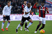 Abdoulay Konko Lazio, Amadou Diawara Bologna <br /> Bologna 17-01-2016 Stadio Dall'Ara Football Calcio Serie A 2015/2016 Bologna - Lazio Foto Insidefoto