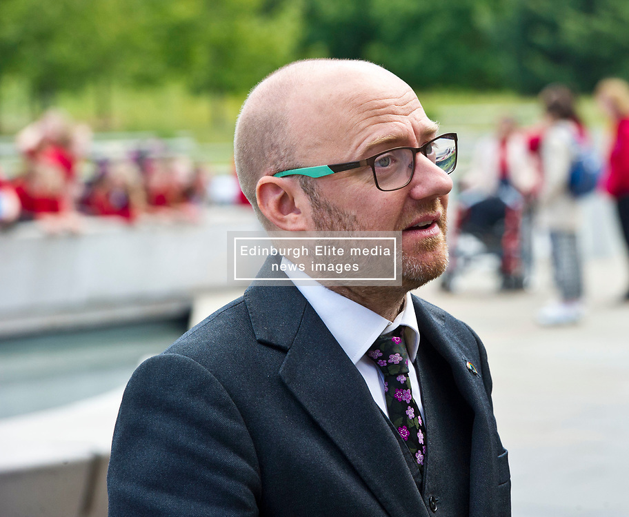 Pictured: Partrick Harvie, co-leader of the Scottish Greens<br /> <br /> The No 3rd Runway Coalition was at the Scottish Parliament today to urge the SNP to change their position on supporting the Heathrow third runway proposal and to send the UK Government a message to 'think again'. Campaigners will be joined by MSPs from Scottish Greens, and SNP to highlight the environmental damage to Scotland and the rest of the UK that building a third runway would mean, as well as the fact that Scottish airports would suffer as a result.  Campaigners also believe that the SNP appear to be too trusting of UK Government promises – particularly in relation to the impact on Climate Change commitments - as revealed by Keith Brown, Cabinet Secretary for Economy, Jobs and Fair Work, in response to a question from Patrick Harvie MSP in the Scottish Parliament last Thursday.<br /> <br /> The Labour party announced their formal opposition to the proposal on Wednesday, on the basis that the UK Government's Airports National Policy Statement failed all four of party's tests on climate change, delivering extra capacity, air pollution and benefits to be felt outside of London. Additionally, the long-awaited UK Government mitigation framework for international aviation emissions won't be published for many months after MPs have been asked to support the Heathrow proposal. A recent report by the New Economics Foundation seriously calls into question the economic case – using the Department for Transport's own measures; and this is before taking into account the economic impact of Brexit <br /> <br /> <br /> <br /> Ger Harley | EEm 21 June 2018