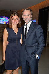 MARCUS WAREING and his wife JANE at the SeriousFun Children's Network London Gala held at The Roundhouse, Chalk Farm Road, London on 3rd November 2016.
