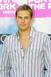 Lee Ryan formerly of the boy band Blue at Party In The Park Temple Newsome Leeds.<br /> <br /> Images Copyright Paul David Drabble<br /> www.pauldaviddrabble.co.uk