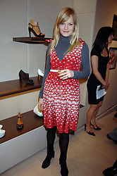 ALEXIA INGE at a party at shoe store Sergio Rossi, 207 Sloane Street, London on 4th April 2007.<br /><br />NON EXCLUSIVE - WORLD RIGHTS