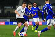 Martyn Waghorn of Derby County  (9) during the EFL Sky Bet Championship match between Derby County and Cardiff City at the Pride Park, Derby, England on 28 October 2020.