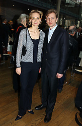 Dancer IRINA KOLESNIKOVA and CONSTANTINE TACHKIM at The Critic's Circle National Dance Awards 2005 held at The Royal Opera House, Covent Garden on 19th January 2006.<br />