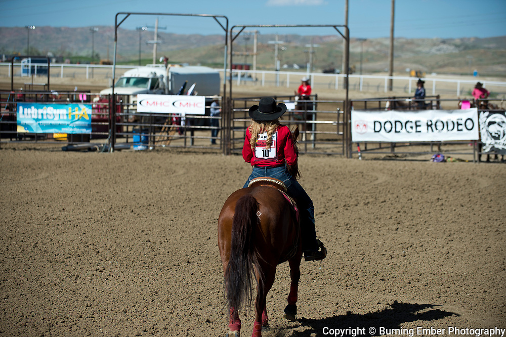The Wyoming High School Rodeo Queen Crowning Ceremony Friday 2nd round event at the Wyoming State High School Finals Rodeo in Rock Springs Wyoming.  Photo by Josh Homer/Burning Ember Photography.  Photo credit must be given on all uses.