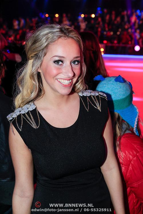 NLD/Hilversum/20130112 - 4e Liveshow Sterren Dansen op het IJs 2013, Zimra Geurts