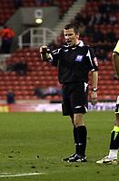 Photo: Mark Stephenson/Sportsbeat Images.<br /> Stoke City v Sheffield United. Coca Cola Championship. 10/11/2007.Referee Mr K Stroud