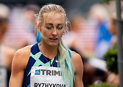 Anna Ryzhykova of Ukraine during FBK Games 2021 on 06 june 2021 in Hengelo.